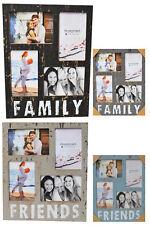 Cadre d'image AMIS / famille für 4,10x15 photos, en MDF fotoständer Cadre photo