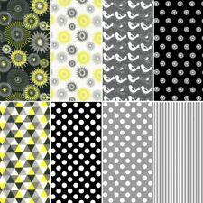 Nutex Modern Garden Floral Mix & Match Collection 100% Cotton Patchwork Fabric