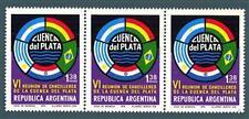 ARGENTINA - 1974 - Emblema del 6 ° Incontro con il Primo Ministro degli esteri