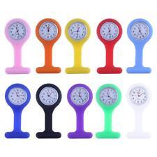 Nurses Watch Fob Silicone Band Strap Medical Hospital Nurse Watches E0Xc