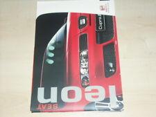 31771) Seat Leon Farben & Polster Prospekt 2003