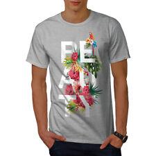 Wellcoda Beauté Cool Imprimé T-shirt homme, fleur de conception graphique imprimé Tee