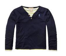 Scotch Shrunk 2in1 Style Pullover, marine/gelb