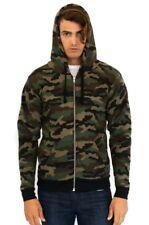Men's Camo Fleece Full Zip Hoody 3510CMO