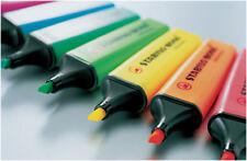 Stabilo BOSS Original Highlighter Pens SINGLES OR PACKS OF 10, All Colours