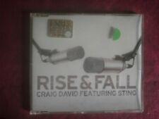 CRAIG DAVID & STING- RISE & FALL  (5 TRACKS). CD SINGLE