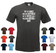"""Bmw-homme drôle voiture cadeau t-shirt - """"ils disent que l'argent ne peut acheter le bonheur..."""""""