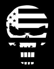 Punisher Flag 2ND AMENDMENT GUN vinyl decal sticker Truck Diesel car hunting SIG