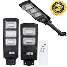 100000LM Commercial Led Solar Street Light Outdoor IP67 Dusk to Dawn Sensor Post