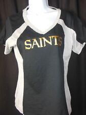 New Orleans Saints Women's G-III Hands High V Neck Tee Shirt