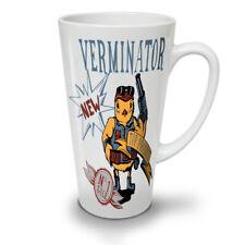 TERMINATOR FUNNY Fantasy Nuovo White Tea Tazza Da Caffè Latte Macchiato 12 17 OZ (ca. 481.93 g) | wellcoda