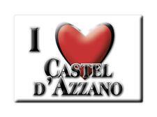 CALAMITA VENETO FRIDGE MAGNET MAGNETE SOUVENIR LOVE CASTEL D'AZZANO (VR)