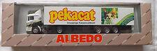 MAN F90 Fv Pekacat Albedo 800015 Koffer Sattelzug OVP H0 1:87  å