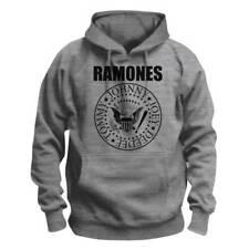 RAMONES Kapuzenpullover Grey Hooded Ramones Hoodie Presidential Seal Band