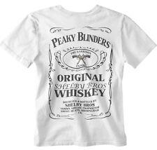 fa1330738 Peaky Blinders T-shirt Whisky Bottle Design gangster garrison pub tee bbc