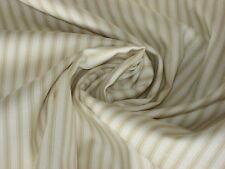Patchworkstoff, Makower, gestreift, Streifen,beige-creme, 745/Q2, Ticking Stripe