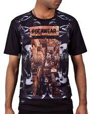 Rocawear Hombre Muchachos Amanecer vacaciones de verano Tee Shirts Hip Hop Tiempo Dinero es R0039