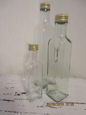 Flasche, Flasche zum Abfüllen, Glasflasche, Flasche mit Schraubverschluss