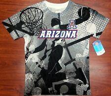 NCAA ARIZONA WILDCATS JERSEY Youth/Boy's Poly Mesh T-Shirt NWT 100% Authentic