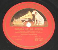 78rpm/Grammofono DB 1032/WILHELM BACKHAUS/BEETHOVEN