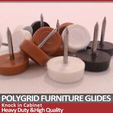 20x noir blanc meubles glisse ongles Knock dans le tableau Chaise Jambe Pieds Protecteurs