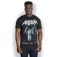 Anthrax Among The Living Scott Ian Thrash Metal Official Tee T-Shirt Mens Unisex