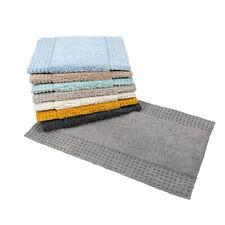San Marino - 100% Cotton 2 Piece Bathroom Bath & Pedestal Mat Set
