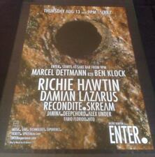 RICHIE HAWTIN ENTER @ SPACE CLUB - IBIZA CLUB POSTERS 2012/13/14/15 TECHNO MUSIC