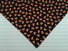 Bandana/Scarf Tie On/Slide On Halloween Candy Corn Custom Made by Linda S,M,L
