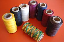 1mm Leather Craft Waxed Wax Thread Diy Stitching Chisel Sewing-20 Yard per Order