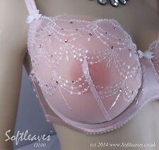 Softleaves O100 High Quality Silicone Breast Form Set n Self Adhesive  n Covers