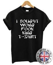 Compré Wong Fook King Camiseta S-XXL Para Hombre Mujer Broma Divertido Navidad Regalo De Navidad