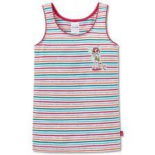 SCHIESSER Mädchen Unterhemd Top Jersey mehrfarbig geringelt Fee  Feeoly's World