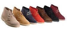 Brand New Mens Ladies Unisex Classic Original Suede Leather Desert Boots 3 - 15
