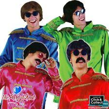 BEATLES SGT PEPPER JACKET COSTUME 60s 70s Pop Star Legend Fancy Dress Outfit 413
