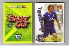 Disparar fuera de 2003/04 (03/04) tarjetas de Fútbol de espalda verde – varios equipos e a m