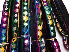 Cose el bordado de encaje cinta de Adorno Banda Cojín ribete Muchos Colores