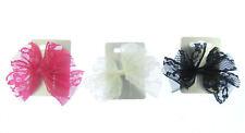 klein Spitze Haarschleife in rosa, weiß oder schwarz