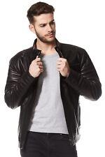 Adam Sandler Real Leather Jacket Black Fashion Designer Biker Style Jacket 105
