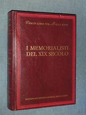 CENTO LIBRI PER MILLE ANNI, I MEMORIALISTI DEL XIX SECOLO, POLIGRAFICO E ZECCA..
