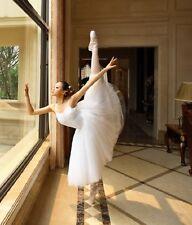 Mujeres adultas Profesional Ropa Falda Faldas De Ballet Leotardo Mono De Danza