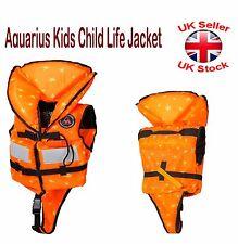 Aquarius Kids Child Life Jacket Buoyancy 100N PFD With Whistle ISO-4 CE 2 Sizes