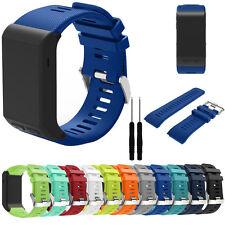 Suave Recambio Deportivo Silicona Cinturón reloj pulsera banda para Garmin