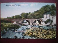 POSTCARD STIRLINGSHIRE BRIDGE OF ALLAN - THE BRIDGE