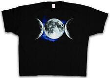 4XL & 5XL TRIPLE GODDESS T-SHIRT Neopaganism Paganism Crowley Shirt XXXXL XXXXXL