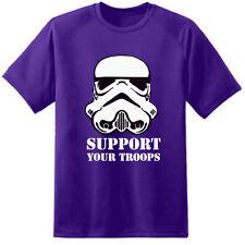 STAR WARS Stormtrooper di sostenere le tue truppe (S-3XL) Jedi Sith Rogue uno 8 Jedi