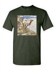 Mystical Camel Desert Pyramid Tanya Ramsey Artworks Art DT Adult T-Shirts Tee
