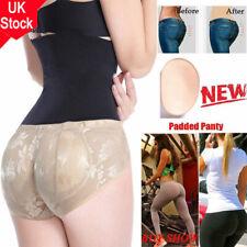 25177a26a571 UK Women Padded Panties Shaper Bum Butt Hip Booster Enhancer Knickers  Underwear