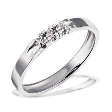 Goldmaid Ring Brillantring  585er Weissgold Weißgold Brillanten 0,09 ct Memoire