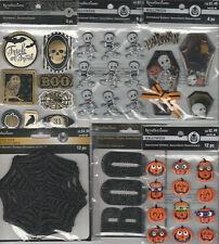 U CHOOSE  Assorted Recollections RAVENSHEAD MANOR ETC. HALLOWEEN 3D Stickers